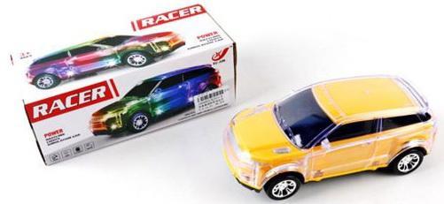 Инерционная машинка Shantou Gepai Racer - Range Rover желтый XJ515-B