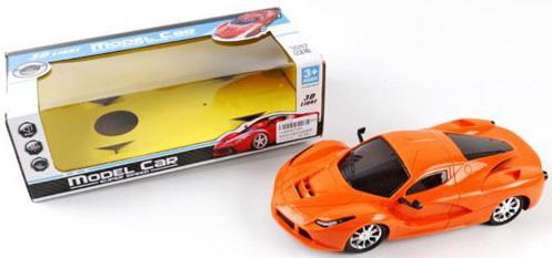 Автомобиль Shantou Gepai Model оранжевый  3399
