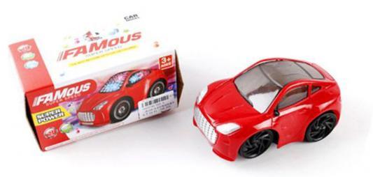 """Автомобиль Shantou Gepai """"Famous"""" красный 555-5, Детские модели машинок  - купить со скидкой"""