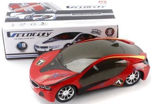 Автомобиль Shantou Gepai 3D Velocity красный