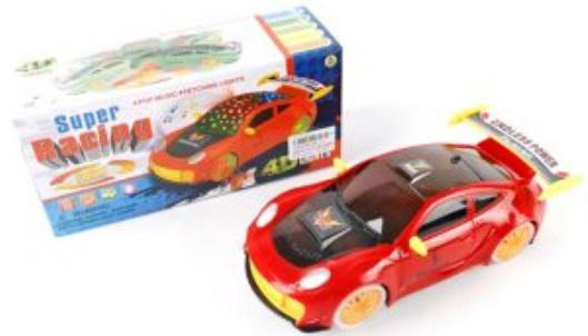 Автомобиль Shantou Gepai Super Racing красный