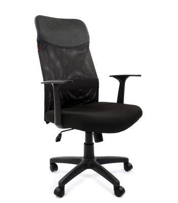Кресло Chairman 610 LT черный 7008728