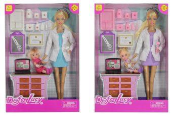 Кукла Defa Luсy Детский доктор с аксесс., в ассорт. 61680 кукла defa lucy доктор 8347