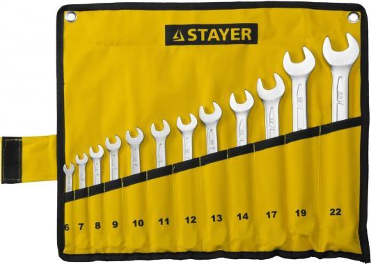 Купить Набор ключей Stayer Profi 12шт 27081-H12