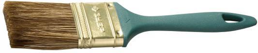 Кисть плоская Зубр КП-14 смешанная щетина пластиковая ручка 25мм 4-01014-025