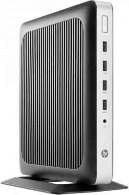 Тонкий клиент HP t630 AMD G-GX-420GI 4Gb SSD 32 Radeon R7E использует системную Windows 10 IoT Enterprise черный серебристый X9S65EA