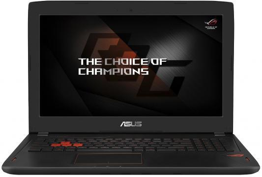 Ноутбук ASUS ROG GL502VM-FY043T 15.6 1920x1080 Intel Core i5-6440HQ ноутбук asus rog gl752vw 90nb0a42 m06740 90nb0a42 m06740