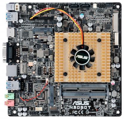 Мат. плата для ПК ASUS N3050T с процессором Intel 2xDDR3 2xSATAIII mini-ITX Retail