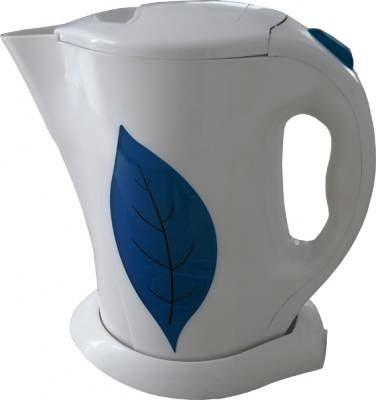 Чайник Irit IR-1110 1850 Вт белый синий 1.7 л пластик