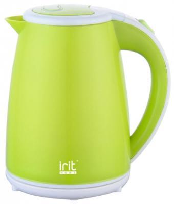 Чайник Irit IR-1221 1500 Вт зелёный 1.5 л металл/пластик