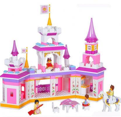 Конструктор SLUBAN Волшебный замок принцессы M38-B0251 385 элементов цены онлайн
