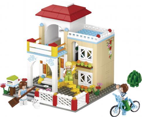 Конструктор SLUBAN Загородный дом M38-B0533 380 элементов конструктор sluban дом с машиной 305 элементов m38 b0572
