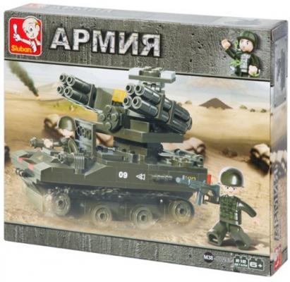 Конструктор SLUBAN Армия - Зенитно-ракетный комплекс 212 элементов M38-B0283 конструкторы sluban армия патрульный автомобиль 101 деталь