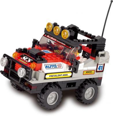 Конструктор SLUBAN полноприводный автомобиль(красный) M38-B0132 167 элементов