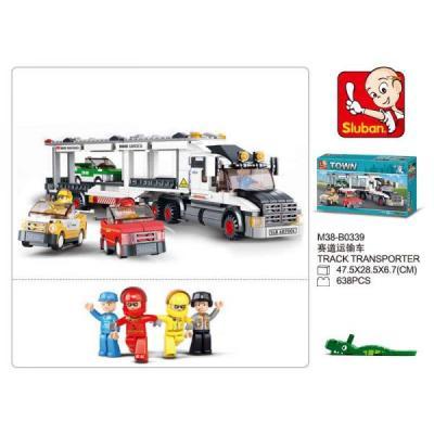 Фото - Конструктор SLUBAN автомобильный транспортер M38-B0339 638 элементов конструктор nd play автомобильный парк 265 608