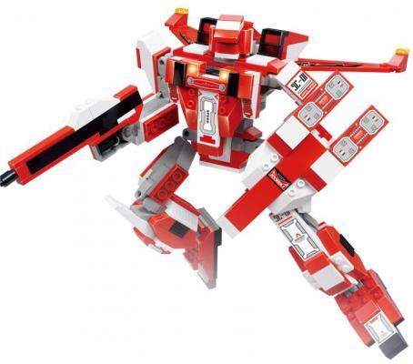 Конструктор SLUBAN Космический, Трансформер-военный самолет 331 элемент winx club сумка детская 62462