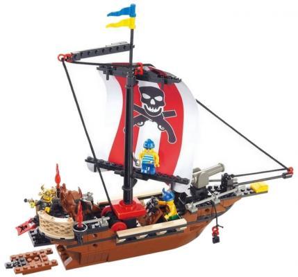 Конструктор SLUBAN быстроходный пиратский корабль M38-B0279 226 элементов конструктор sluban быстроходный пиратский корабль m38 b0279 226 элементов