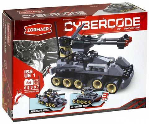 Конструктор ZORMAER Tank Firestorm 84 элемента