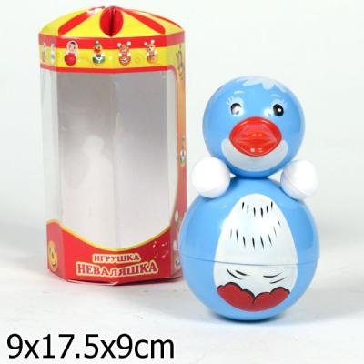 Неваляшка Неваляшки-Котовск Пингвин 15 см, звук, 6с-0013 неваляшка неваляшки котовск 6с 012