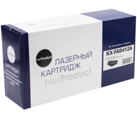 Фотобарабан NetProduct KX-FAD412A для Panasonic KX-MB1900/2000/2020/2030/2051 10000стр фотобарабан panasonic kx fad412a для kx mb2000 2010 2020 2030