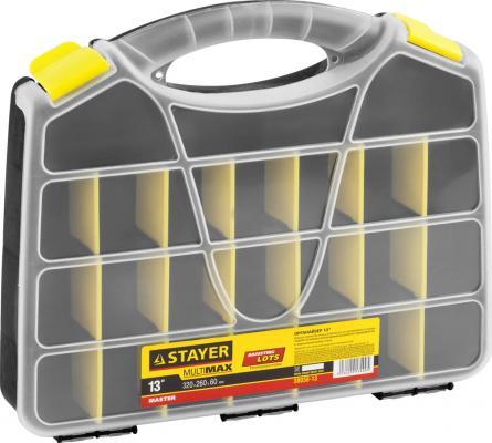 "Органайзер Stayer Master 13"" для крепежа и принадлежностей 320х260х55мм 38038-13"