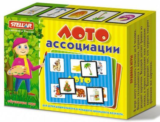 Настольная игра СТЕЛЛАР лото Ассоциации 911 настольные игры стеллар лото для девочек