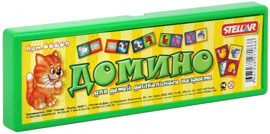 Настольная игра домино СТЕЛЛАР Хорошие знакомые 9, Размер упаковки: 6 х 18.5 х 1.5 см, Лото, домино, шашки и шахматы  - купить со скидкой