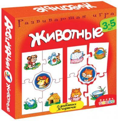 Настольная игра развивающая ДРОФА Ассоциации - Животные  2920 учебники дрофа французский язык как второй иностранный 8 класс учебник