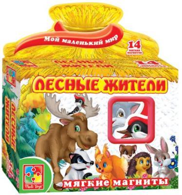 Магнитная игра Vladi toys развивающая Лесные жители