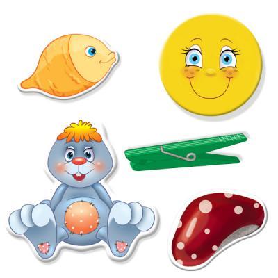 Настольная игра Vladi toys развивающая Прищепочки Зайка VT1307-04 VT1307-04 vladi toys настольная игра больше чем азбука vladi toys