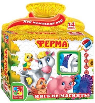 """Магнитная игра Vladi toys развивающая """"Мой маленький мир"""" - Ферма игра vladi toys ферма vt3101 03"""