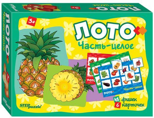 """Настольная игра Step Puzzle лото """"Часть-целое"""" 80304"""