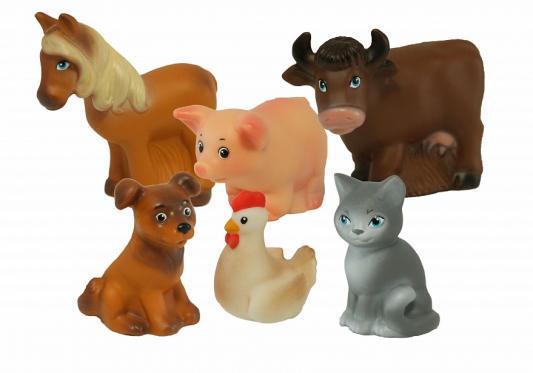 Резиновая игрушка для ванны ВЕСНА Домашние животные В2935 15 см
