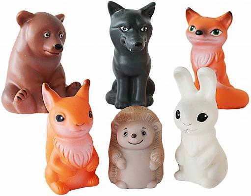 Набор игрушек ВЕСНА Животные леса 8.5 см В885 журнал животные леса 43