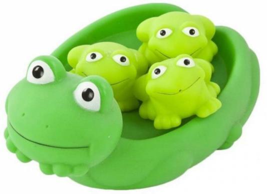 Игрушка для купания для ванны Жирафики Мама лягушка и лягушата игрушки для ванны tolo toys набор ведерок квадратные