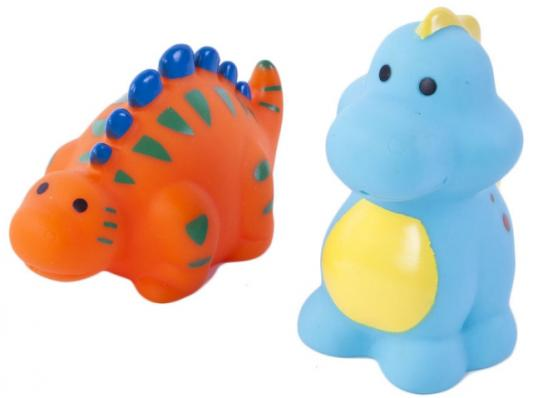 Набор игрушек для ванны Жирафики Динозаврики 681274 игрушки для ванны tolo toys набор ведерок квадратные