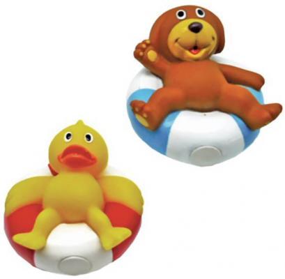 Игрушка для купания для ванны Жирафики Утенок и щенок 681275