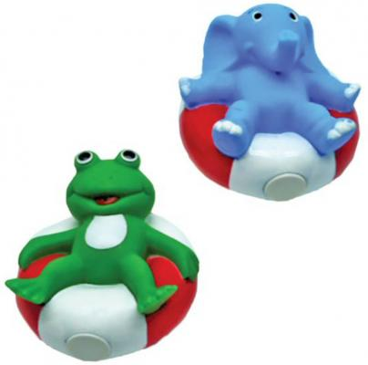Игрушка для купания для ванны Жирафики Лягушонок и слоник 681276 игрушки для ванны играем вместе заводная игрушка для купания лягушонок