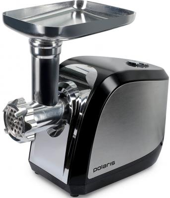 Электромясорубка Polaris PMG 2033AL 250 Вт чёрный серебристый