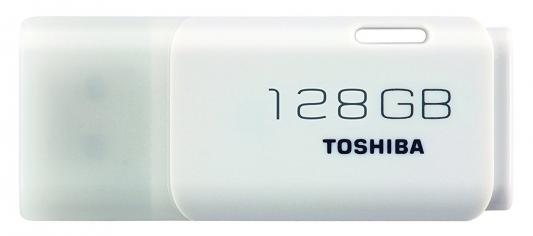 Флешка USB 128Gb Toshiba TransMemory U202 THN-U202W1280E4 белый toshiba transmemory mx usb 3 0 flash drive disk black grey 16gb read speed 70mb sec