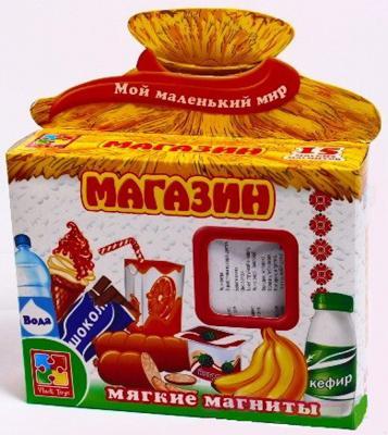 """Магнитная игра развивающая Vladi toys """"Мой маленький мир"""" - Магазин  VT3101-08"""