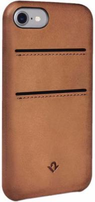 Накладка Twelve South Relaxed with pockets для iPhone 7 коричневый чехол twelve south bookbook для iphone 5 в спб