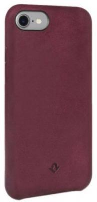 Накладка Twelve South Relaxed для iPhone 7 бордовый 12-1642 чехол twelve south bookbook для iphone 5 в спб