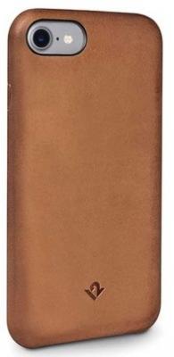 Накладка Twelve South Relaxed для iPhone 7 коричневый 12-1639 чехол накладка twelve south relaxed для iphone 7 материал натуральная кожа цвет светло коричневый