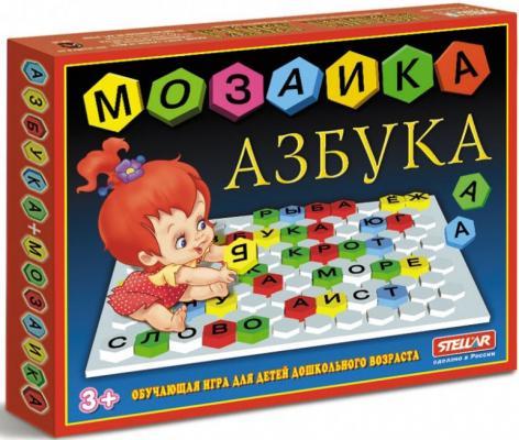 Купить Мозайка 110 элементов СТЕЛЛАР Азбука 1003, Мозаика