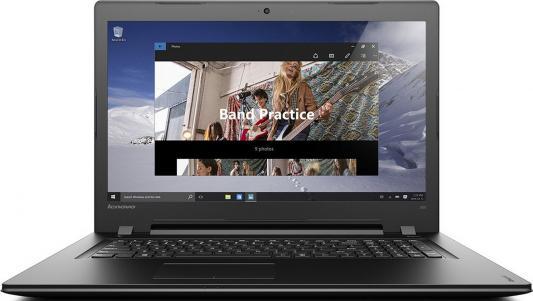 Ноутбук Lenovo IdeaPad 300-17 17.3 1600x900 Intel Pentium-4405U 80QH00F7RK 80 1600