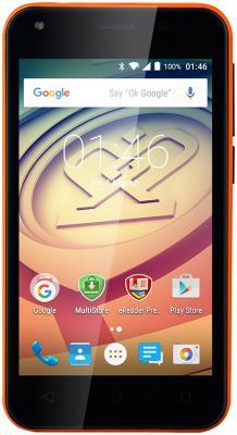 "Смартфон Prestigio Wize L3 оранжевый 4"" 4 Гб Wi-Fi GPS 3G PSP3403DUOORANGE"