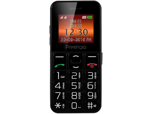 """Мобильный телефон Prestigio Wize E1 черный 1.77"""" 32 Мб"""