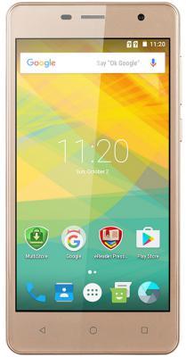 "Смартфон Prestigio Wize PX3 золотистый 5"" 8 Гб Wi-Fi GPS 3G PSP3528DUOGOLD"
