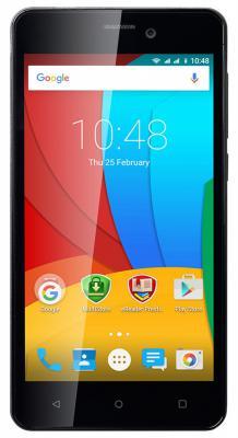 "Смартфон Prestigio Muze A5 черный 5"" 8 Гб Wi-Fi GPS 3G PSP5502DUOBLACK"